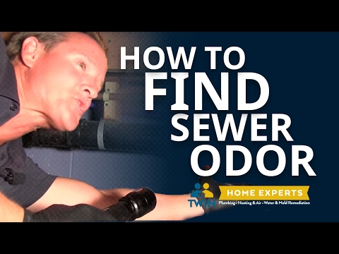 How To Find a Sewer Odor