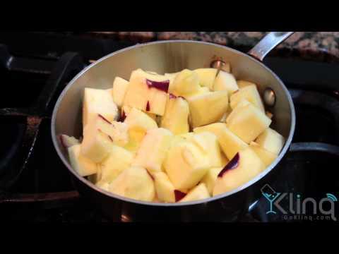 Apple Martini- Prep apple sauce
