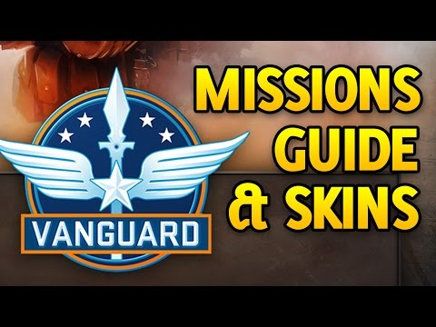 CSGO Operation Vanguard Missions and Skins