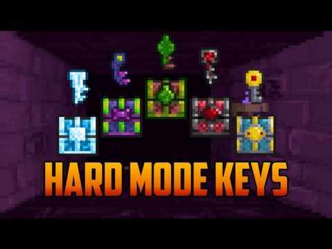 Terraria - Keys to Hard Mode Chests