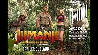 Jumanji: Bem-vindo à Selva   Trailer 1 (Dublado)
