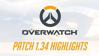[NEW PATCH] Patch 1.34 Highlights   Overwatch