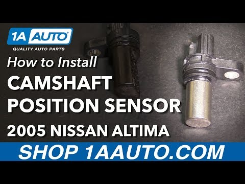 How to Install Replace Camshaft Angle Position Sensor 2002-06 L4 2.5L Nissan Altima