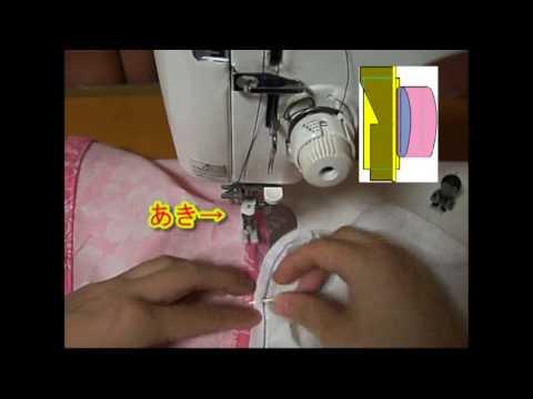 そでのつけかたHow to sew sleeve. A basic sewing tutorial(HD)