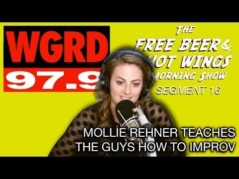 Mollie Rehner Teaches the Guys Improv - FBHW Segment 16