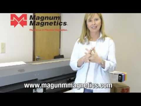 Magnetic Vinyl Printing Tips