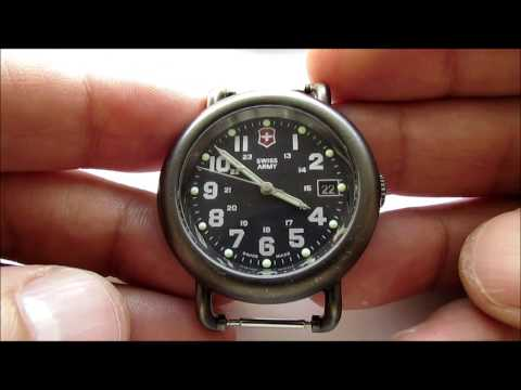 How to put a Nato strap on your Swiss Army wrist watch