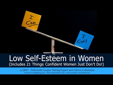 Women, Low Self Esteem and No Confidence in Dating Relationships