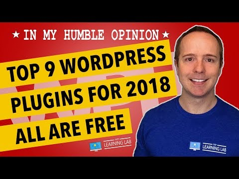 9 Top Plugins 2018 For WordPress - Must-Have Plugins For WordPress