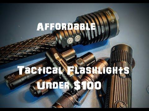 5 affordable tactical flashlights under $100