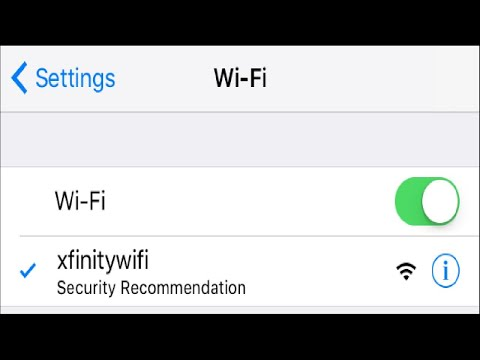 "Why Does My iPhone Display ""Security Recommendation"" for a Wi-Fi Network?"