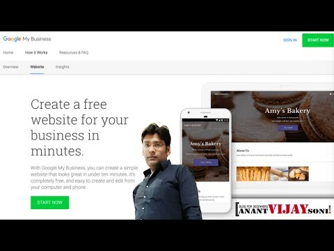 Create a Free Website for Your Business - Google My Business New Update