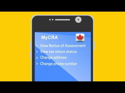 Get your tax info on the go with CRA mobile apps