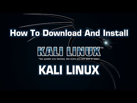 how to download kali linux 2018