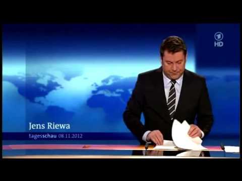 Tagesschau Panne Jens Riewa unzensiert