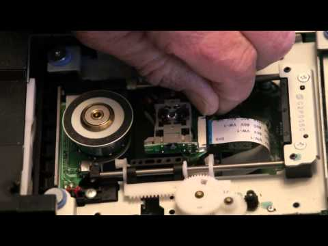 Denon 2930 Laser Pickup Replacement (Part 1 of 3)