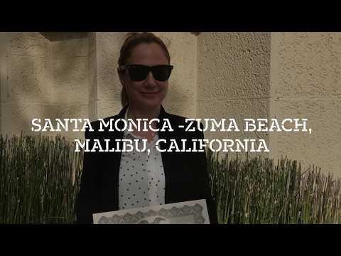 Santa Monica - Zuma Beach, Malibu, California