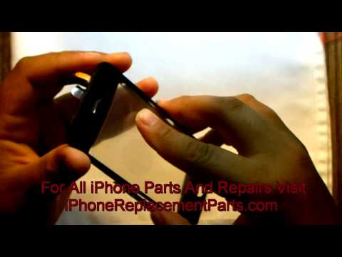 iPhone 3GS Touchscreen Glass Replacement - iPhoneReplacementParts.com