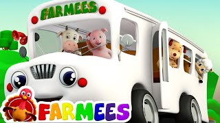 The Wheels On The Bus | Songs for Children Compilation | Kids Songs by Farmees