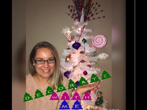 Decorate the Christmas Tree with me | Candy Land Theme Tree