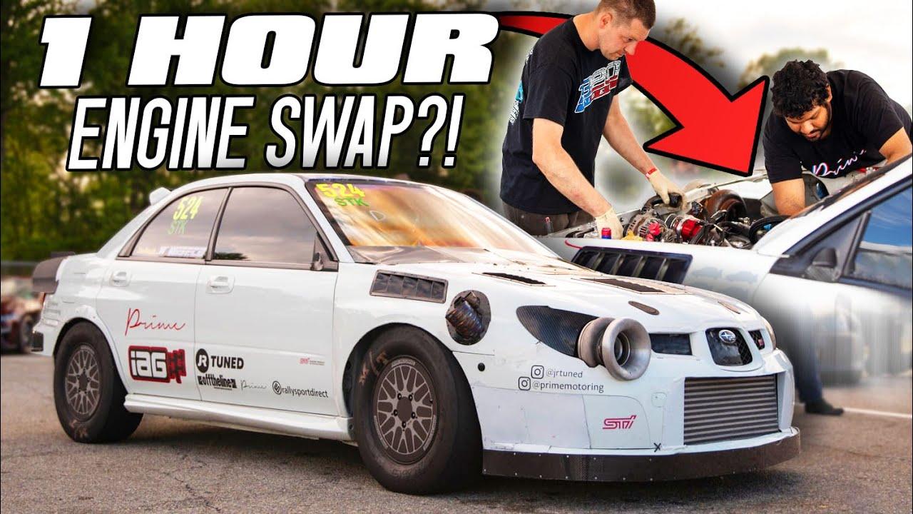 Can a 1300HP Subaru do a 7 second pass?