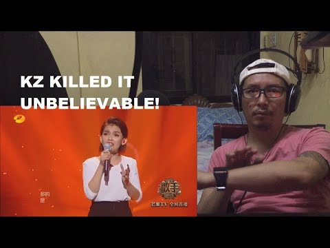 The Singer episode 6, Kz Tandingan mandarin song Papatubo React