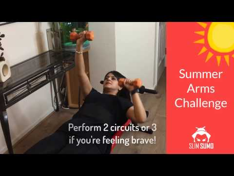 Summer Arms Challenge - Get Rid of Bingo Wings for Good!