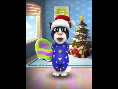 [My Talking Tom] Toms christmas rap song