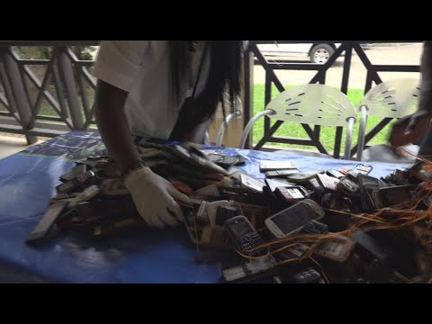 Recycling West's used phones for sake of environment