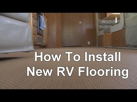 How To Install New RV Flooring