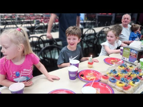Cooper's 6th Birthday Party at Chuck E Cheese's!
