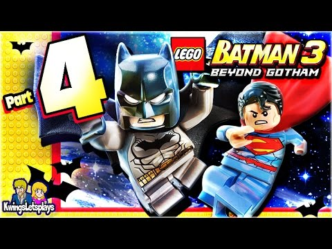 LEGO BATMAN 3 - Walkthrough Part 4 Space Suits You Sir!