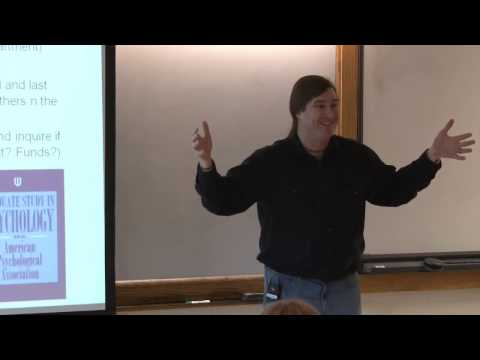 Planning for Graduate School In Psychology