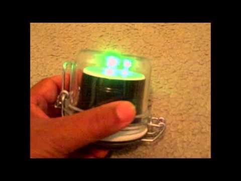 Homemade Green LED Fishing Light... How Long Will a 9v Battery Last?