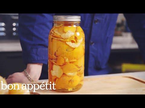 How to Make Organic Citrus Cleaner | Bon Appetit