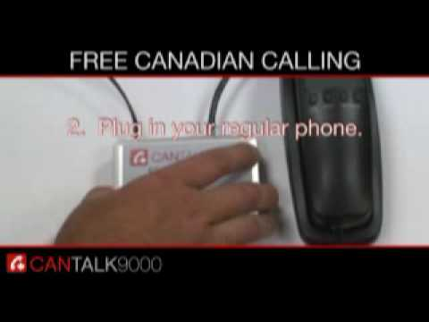 How to get free Canadian Phone calls