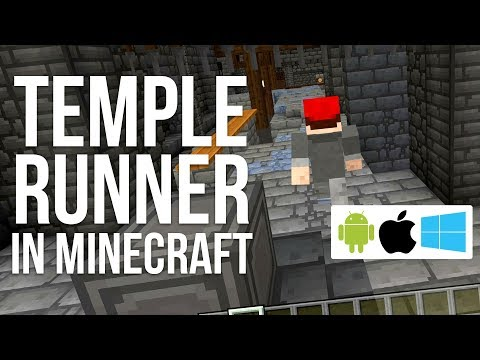 Temple Runner In Minecraft - Don't Stop Running