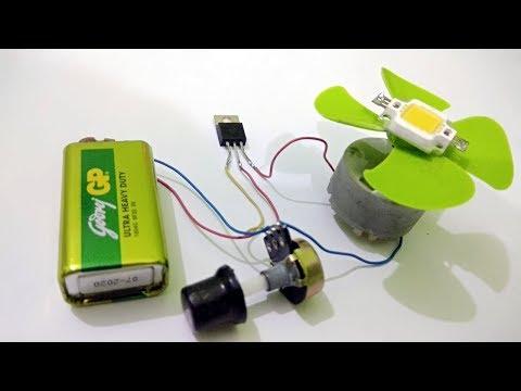 Light Dimmer &  Motor speed Controller Using  MOSFET IRF Z44