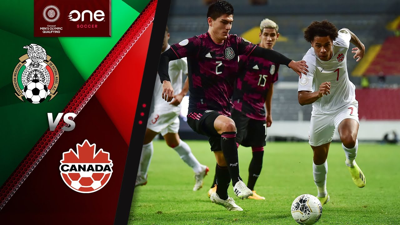 HIGHLIGHTS   Mexico v Canada - CONCACAF Men's Olympic Qualifiers (Semi-Final)
