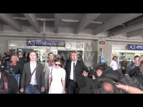 Emma Watson arrived at the Nice Airport