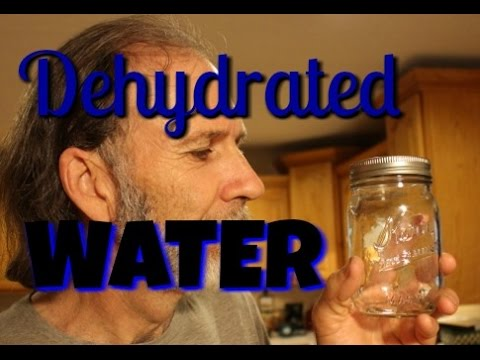 How to Dehydrate Water and Can it Safely