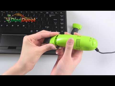 Laptop PC Mini USB Keyboard Vacuum Cleaner - dinodirect