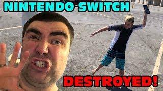 Kid Temper Tantrum Destroys Nintendo Switch Over Fortnite [ Original ]