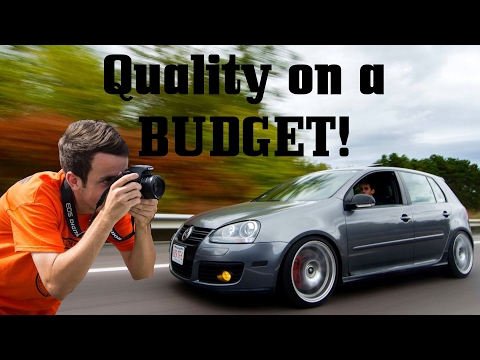 Tips for Making Quality Car Videos on a Budget