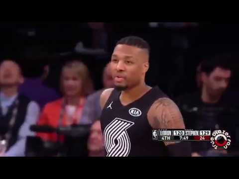 All-Star Game 2018 - Damian Lillard Highlights - 21 Points, 3 Rebounds, 2 Assists