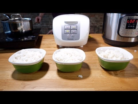 Rice cooker vs. Instant Pot vs. stovetop—which makes the best rice?