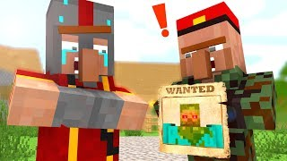 Zombie vs Villager Life 5 - Craftronix Minecraft Animation