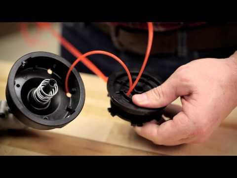 String Trimmer Line Installation Instructions