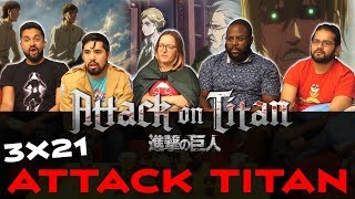 Download Attack on Titan - 3x21 Attack Titan - Group Reaction Video