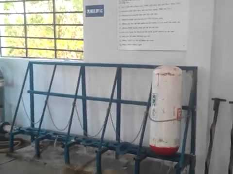 Hydro testing of CNG Gas Cylinders by Hydrotech Engineering, Vadodara